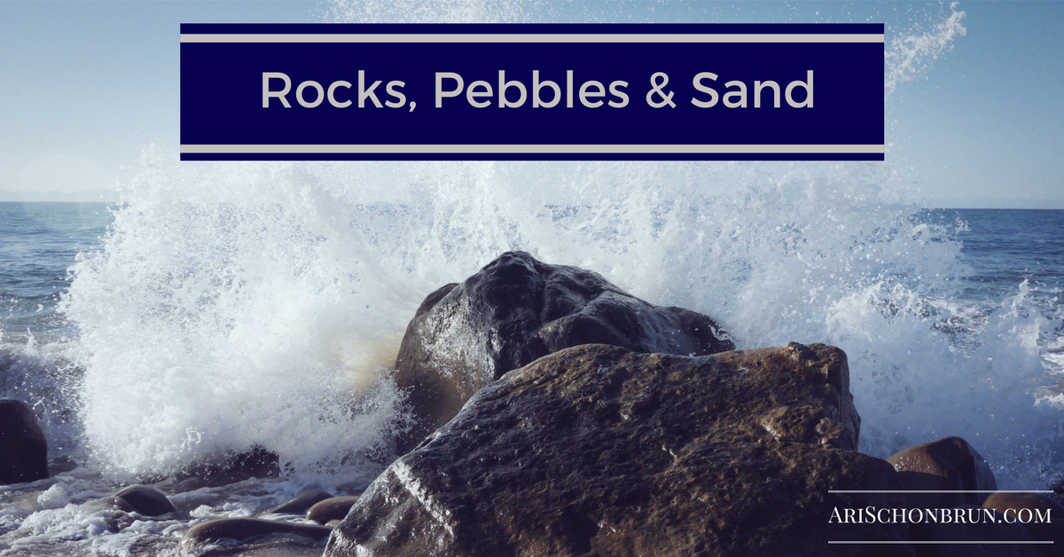Rocks, Pebbles And Sand