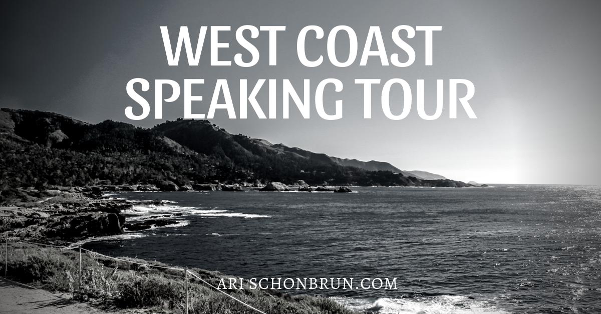 West Coast Speaking Tour