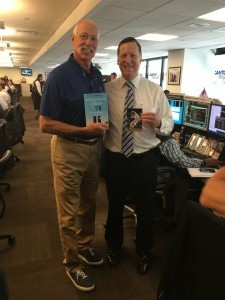 Charity Day at Cantor Fitzgerald: with Goose Gossage