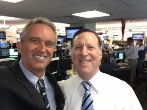 Charity Day at Cantor Fitzgerald: with Robert F. Kennedy Jr.