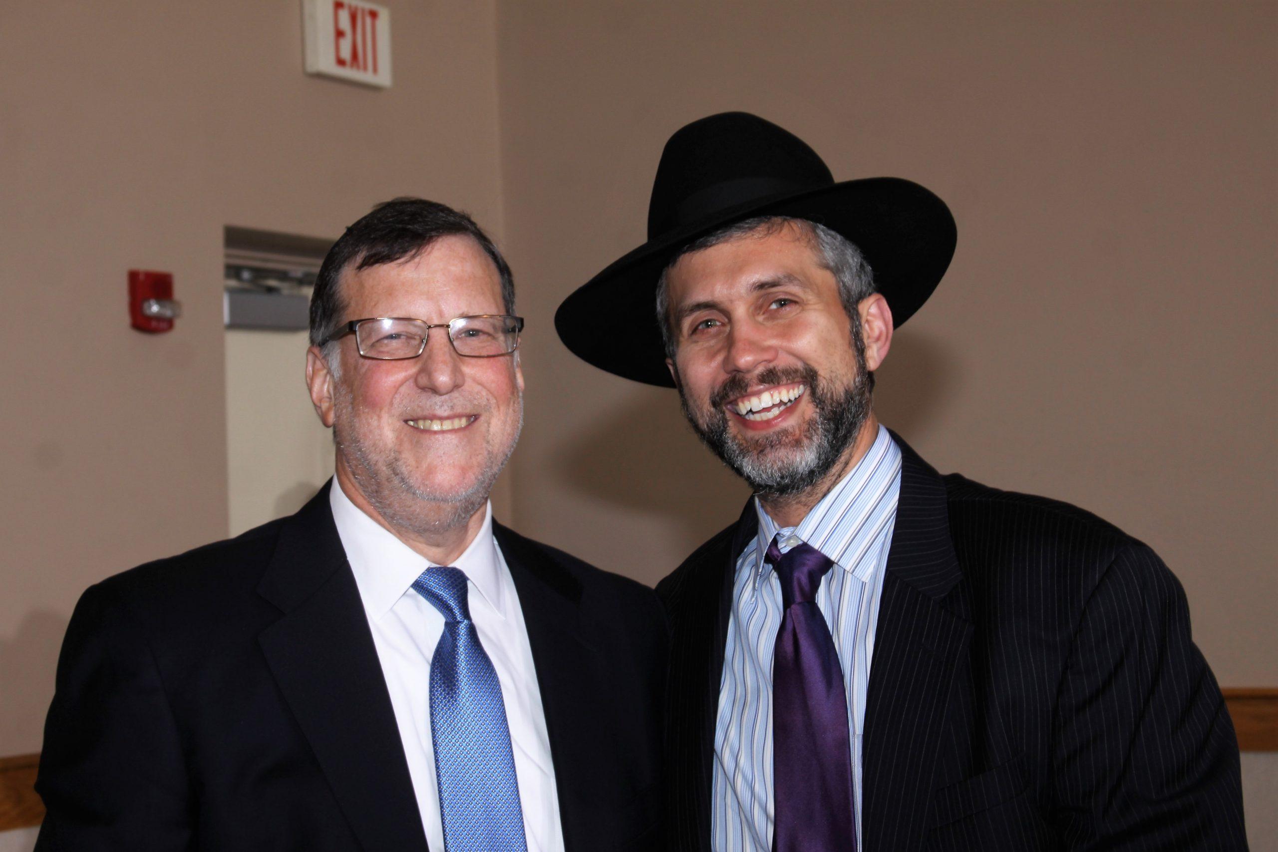 Ari With Rabbi Yelen