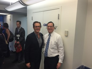 With Kyle MacLachlan